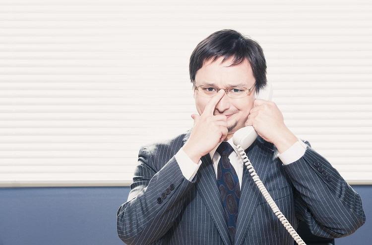 電話でのセールス