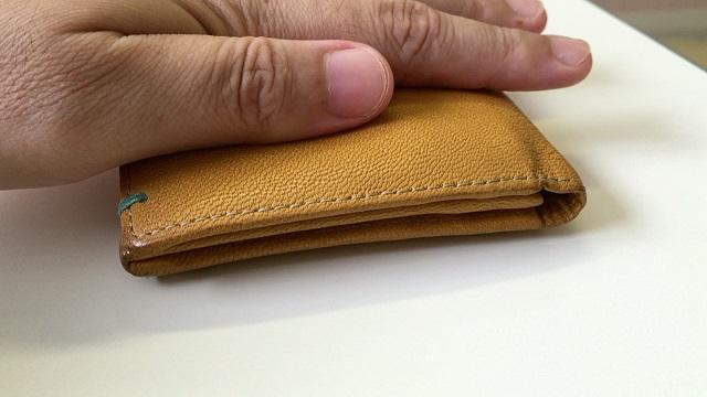 財布は薄い方がいい
