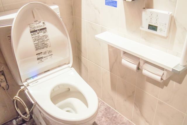 会社のトイレはチェックポイント