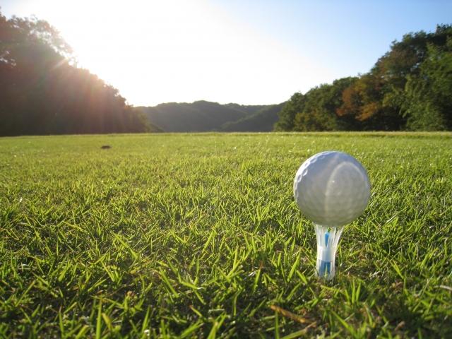 会社経営者とゴルフ